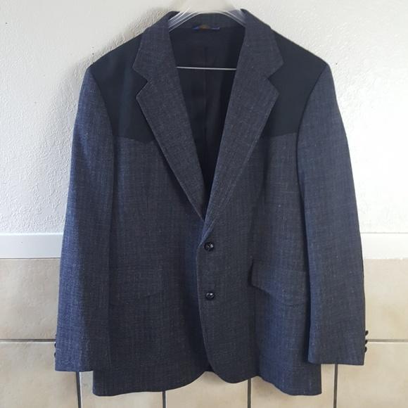 Pendleton Other - Vintage Pendleton Men's leather and wool jacket